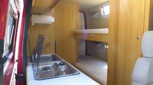 Campingbus-Kastenwagen-Etagenbett-Stockbetten
